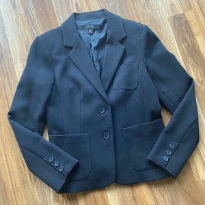 Kensie Two Button Black Blazer